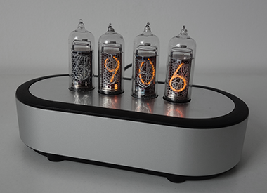 "nixie clock with 0,7"" digit height"