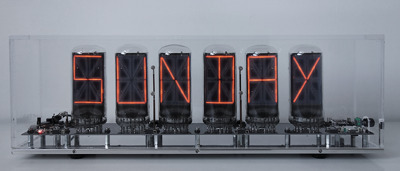 "14-segment-nixie with 2,5"" symbol height"