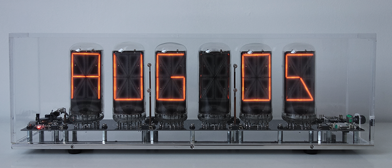 "14-segment-nixie with 2,5"" mm symbol height"
