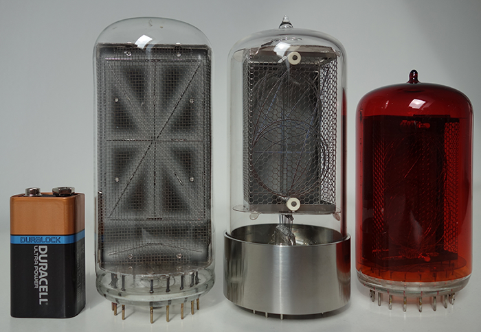 large Nixie-Tubes