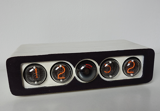 nixie clock with dekatron counting-tube